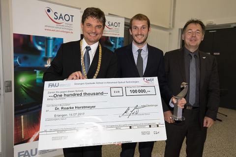 SAOT award prize